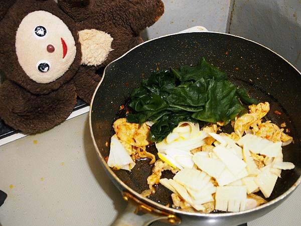 豚肉の若竹炒め 作り方