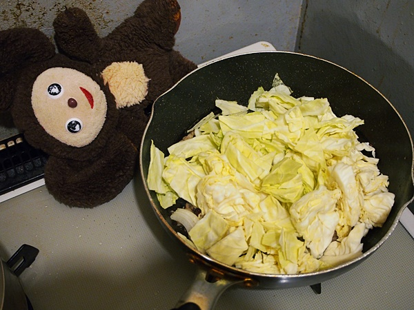 ペペロン野菜炒め 作り方