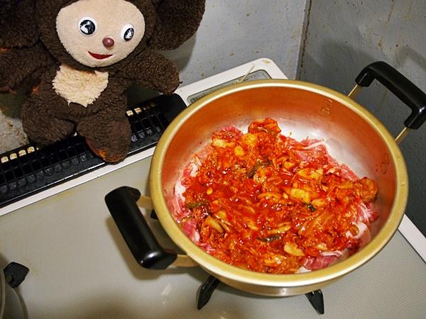 牡蠣のキムチチゲ 作り方