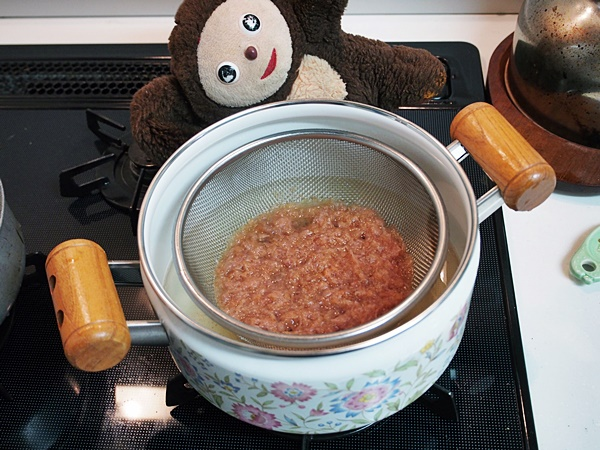 豚肉と菜の花の吸い物・在日コリアン風 作り方