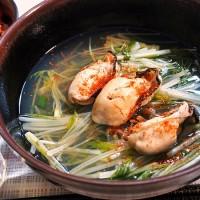 牡蠣の吸い物・在日コリアン風