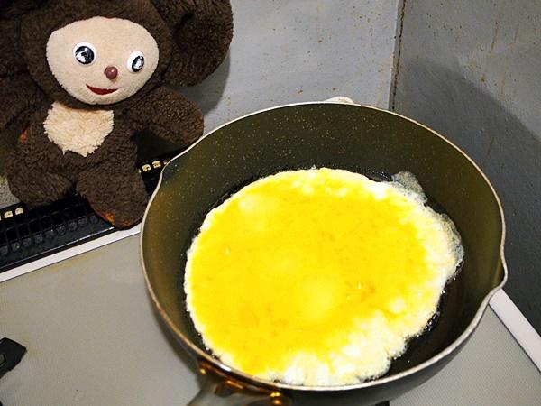 キムチのニラ玉 作り方