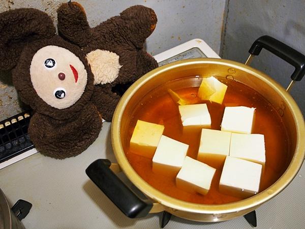 豚肉と豆腐のキムチ吸物 作り方
