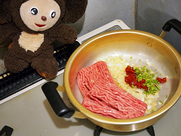 あさりのミートソース丼 作り方
