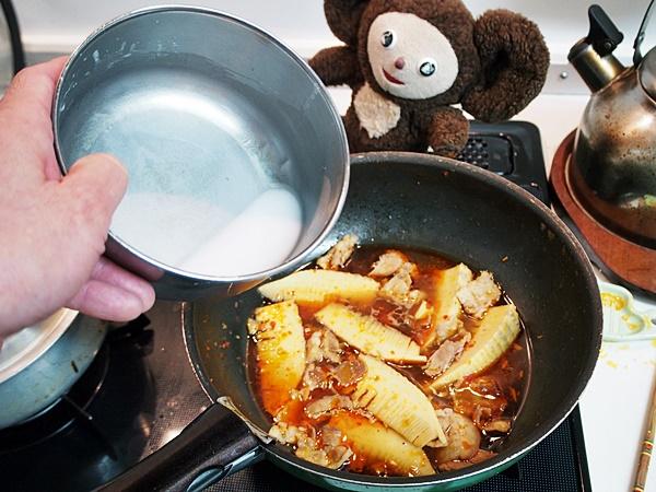 タケノコ卵炒め 作り方