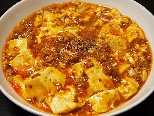 うす味マーボー豆腐
