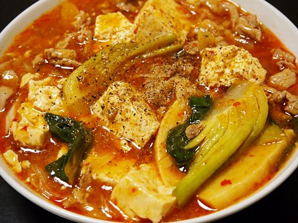 マーボー豚肉豆腐