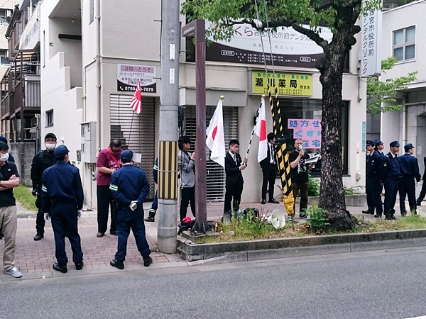 神戸ヘイト街宣