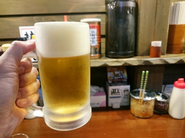 麺王 ビール