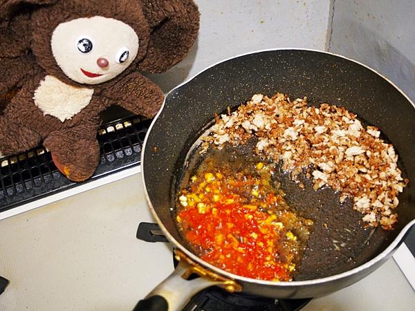 マーボーあさり豆腐 作り方