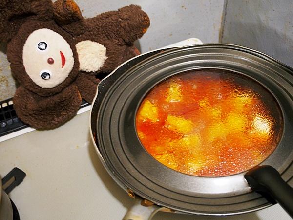 タケノコと厚揚げのミートソース 作り方