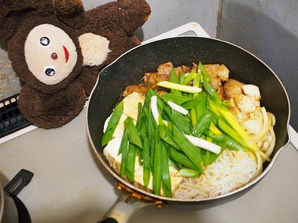 親鶏の鶏すき 作り方