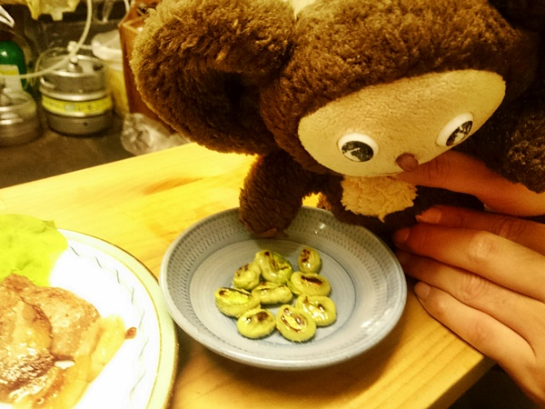 それ豆の鉄板焼き