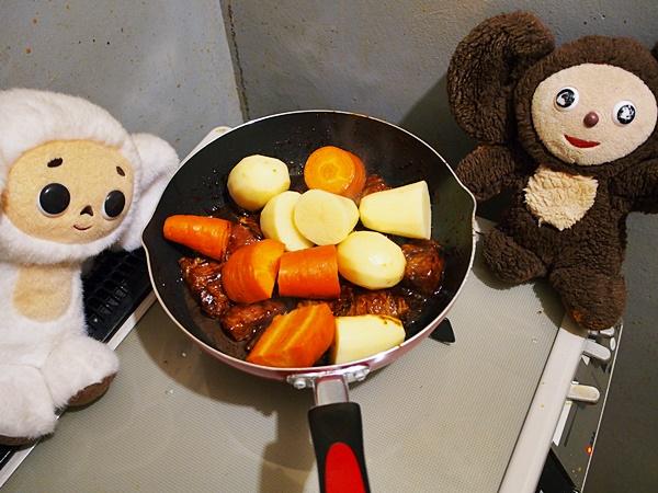 豚肉のみそ煮込み 作り方