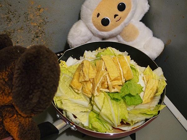 白菜の和風ミートソース煮 つくり方