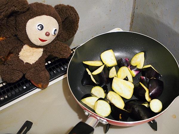 なすと万願寺の和風トマトソース煮 つくり方