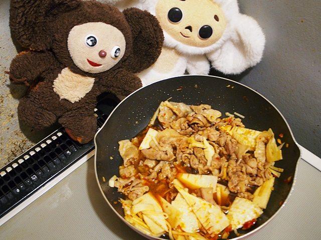 豚肉と厚揚げ・白菜のコッテリクッタリ煮 つくり方