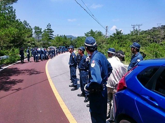 徐行運転による抗議