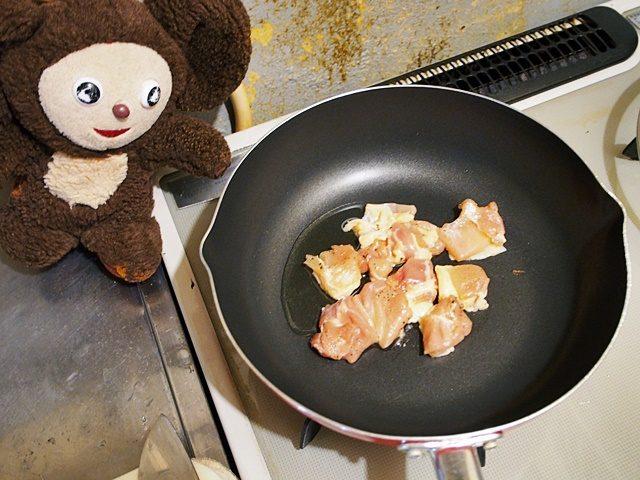 鶏肉とアスパラの塩味ピラフ 作り方