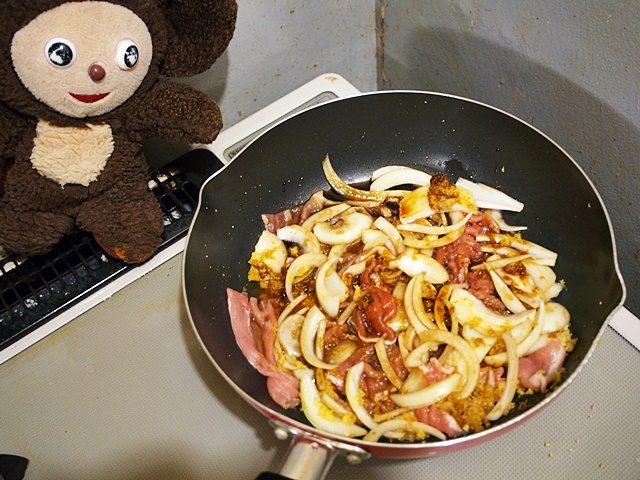 豚肉とニラのしょうが焼き 作り方