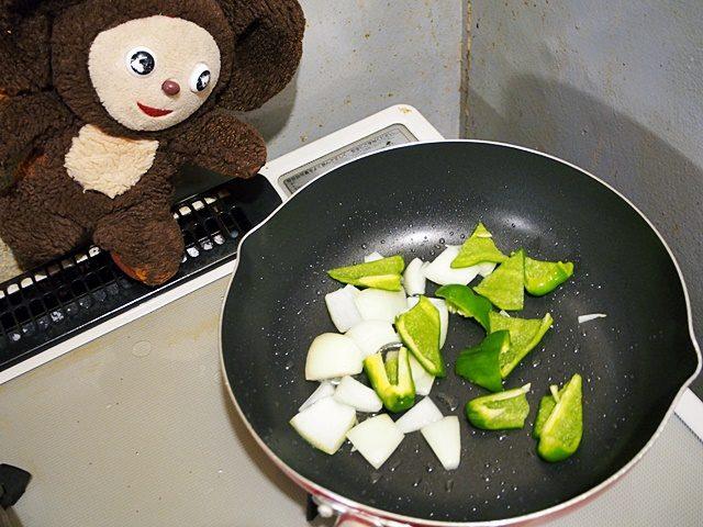 鶏肉と卵の親子炒め 作り方
