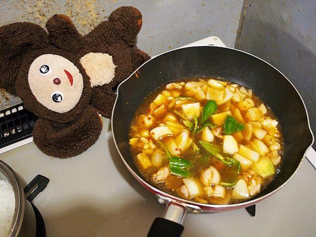 中華風親子丼 作り方