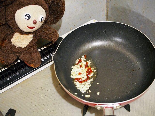 ゴーヤの家常豆腐 作り方