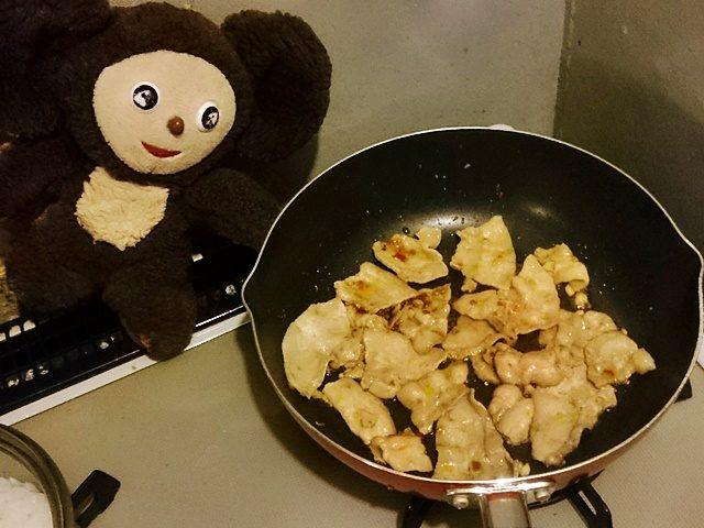 あさりと豚肉炒め丼 作り方