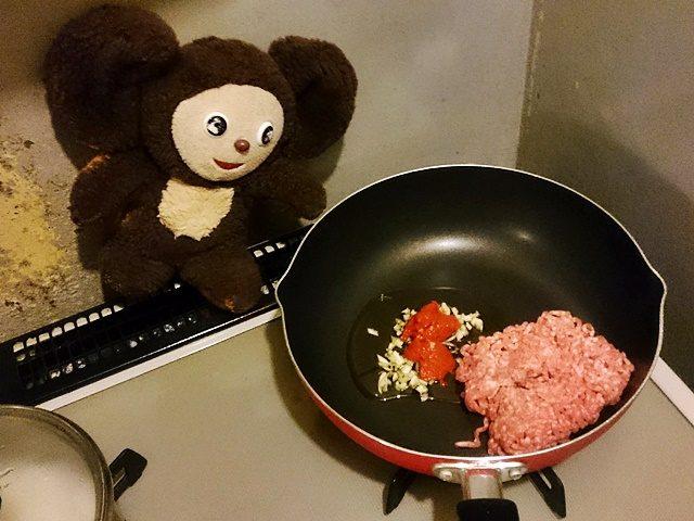 マーボー肉じゃが 作り方