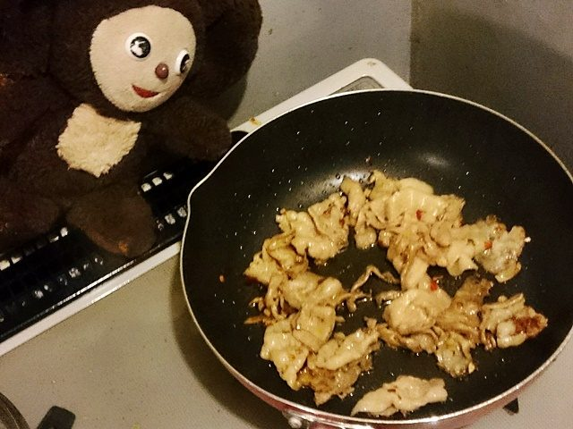 豚肉とネギの中華丼 作り方