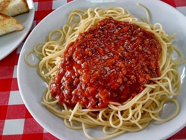 宮里そば スパゲティー